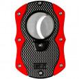 Нож для сигар Colibri Monza Matte Black + Anodized Red \ CB CU-200T003