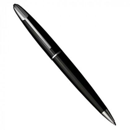 Ручка шариковая Colibri Equinox Matt Black CT BP \ CB BP-100D004