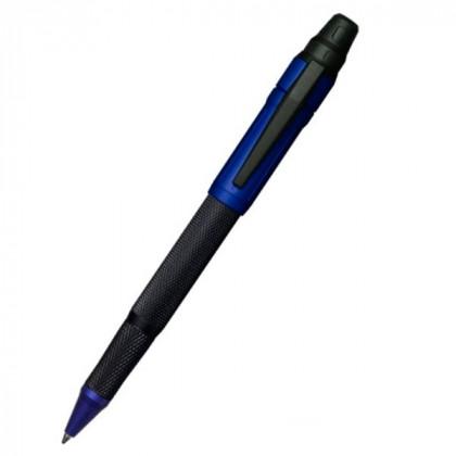 Ручка шариковая Colibri Ascari matte black pachmayr,anodized blue BP \ CB BP-100T005
