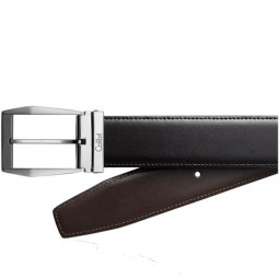 Кожаный ремень Colibri Diamond / black and brown leather reversible \ CB BT-100C001