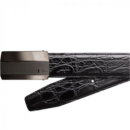 Кожаный ремень Colibri Modena / toscana black leather polished gunmetal \ CB BT-101T007