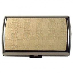 Портсигар Givenchy 1952 IVORY LEATHER, DIA-SILVER \ GV GC3-0003