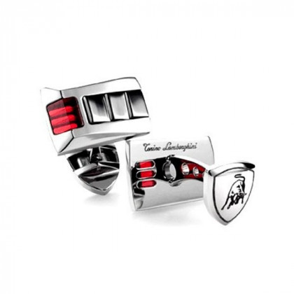 Запонки Tonino Lamborghini IL Primo Collection Red Crystal \ TL TCL004000