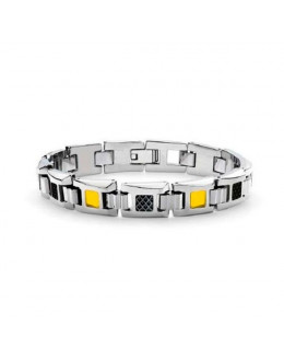 Браслет мужской Tonino Lamborghini IL Primo Collection Yellow Crystal \ TL TBR004003
