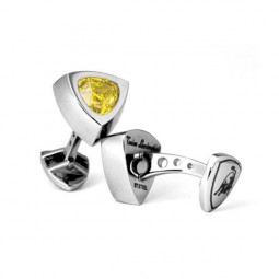 Запонки Tonino Lamborghini Scudo Collection Yellow \ TL TCL007003