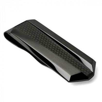 Зажим для денег Tonino Lamborghini Aria Collection Black \ TL TMC009000