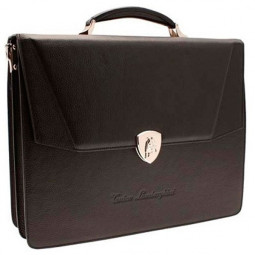 Портфель Tonino Lamborghini Collection Sport Elegance Brown 41x33x13 cm \ TL CA11003-04
