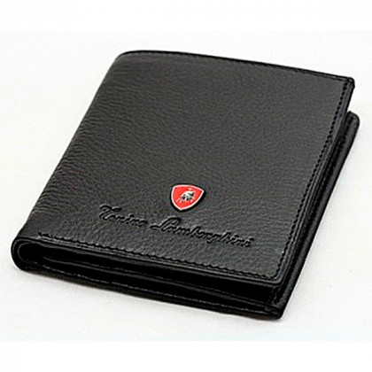 Мужской бумажник Tonino Lamborghini Collection Sport Elegance Black 8,8x10,3 cm \ TL PF11012-01