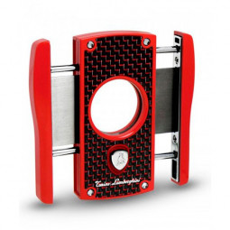 Гильотина для сигар Tonino Lamborghini Aldebaran Red with Black & Red Carbon Fiber \ TL TNF003001