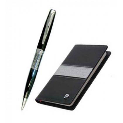 Набор Pierre Cardin: ручка шариковая + блокнот \ PC700