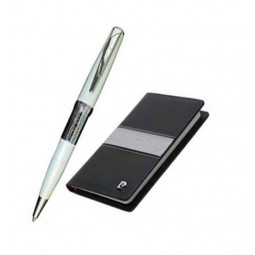 Набор Pierre Cardin: ручка шариковая + блокнот \ PC701