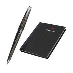 Набор Pierre Cardin: ручка шариковая + блокнот \ PC702