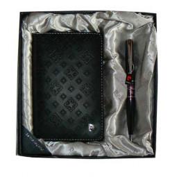 Набор Pierre Cardin: ручка шариковая + обложка для паспорта \ PS1138BI