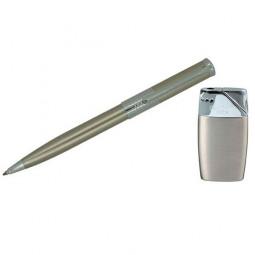Набор Pierre Cardin: шариковая ручка + газовая пьезо зажигалка \ SLP154BP-1034