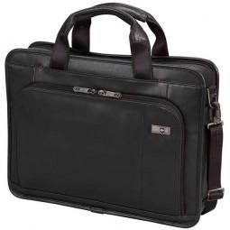 Портфель VICTORINOX Architecture® 3.0 Wainwright 15,6'', чёрный, натуральная кожа, 42x10x32 см, 11 л \ 31322901