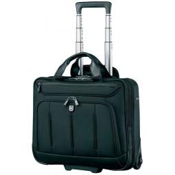 Мобильный офис VICTORINOX VX One Briefcase 15,6', чёрный, нейлон 1000D/кожа, 42x21x40 см, 35 л \ 600612