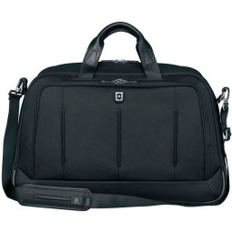 Портфель VICTORINOX VX One Business Duffel 15,6'', чёрная, нейлон 1000D/кожа, 54x20x34 см, 37 л \ 600613