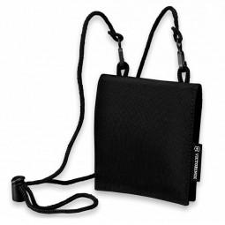 Кошелёк на шею VICTORINOX Convertible Travel Wallet чёрный, нейлон 800D, 13x1x11 см \ 31172001