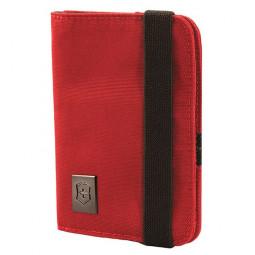 Обложка для паспорта VICTORINOX, с защитой от сканирования RFID, красная, нейлон 800D, 10x1x14 см \ 31172203