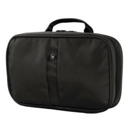 Несессер VICTORINOX Zip-Around Travel Kit, 3 отделения, чёрный, нейлон 800D, 28x8x18 см, 4 л \ 31173201