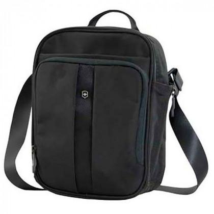 Сумка наплечная VICTORINOX Travel Companion вертикальная, чёрная, нейлон 800D, 21x10x27 см, 6 л \ 31174301