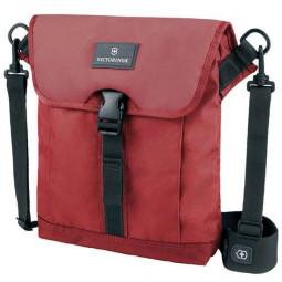 Сумка наплечная VICTORINOX Altmont™ 3.0 Flapover Bag, красная, нейлон Versatek™, 27x6x32 см, 5 л \ 32389203