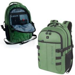 Рюкзак VICTORINOX VX Sport Cadet 16'', зелёный, полиэстер 900D, 33x18x46 см, 20 л \ 31105006