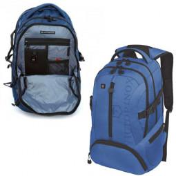 Рюкзак VICTORINOX VX Sport Scout 16'', голубой, полиэстер 900D, 34x27x46 см, 26 л \ 31105109