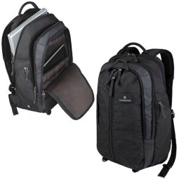 Рюкзак VICTORINOX Altmont™ 3.0, Vertical-Zip Backpack, чёрный, нейлон Versatek™, 33x18x49 см, 29 л \ 32388201