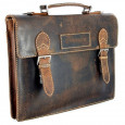 """Портфель WENGER """"ARIZONA"""", коричневый, кожа, 39x5x30 см \ W23-09Br"""