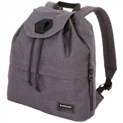 Рюкзак WENGER 13'', cерый, ткань Grey Heather/ полиэстер 600D PU , 33х13х39 см, 16 л  5332424403