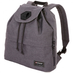 Рюкзак WENGER 13'', cерый, ткань Grey Heather/ полиэстер 600D PU , 33х13х39 см, 16 л \ 5332424403