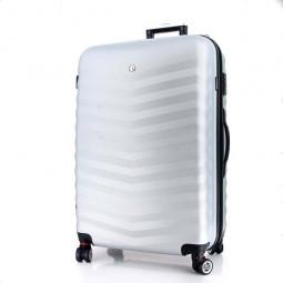 Чемодан WENGER FRIBOURG, серебристый, АБС-пластик, 46x30x70 см, 97 л \ SW32300477