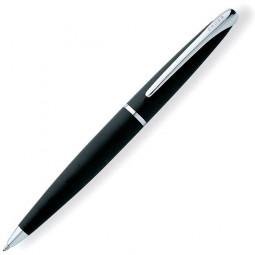 Шариковая ручка Cross ATX - матовый черный/серебро \ 882-3
