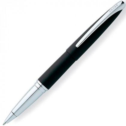 Ручка-роллер Selectip Cross ATX - матовый черный/серебро. \ 885-3