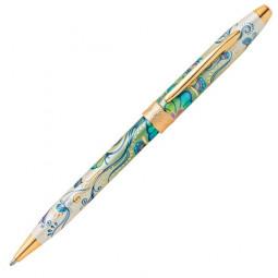 """Шариковая ручка Cross Botanica. - """"Зеленая лилия"""" \ AT0642-4"""