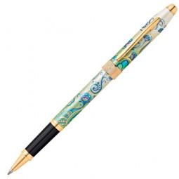 """Ручка-роллер Selectip Cross Botanica. Цвет - """"Зеленая лилия"""" \ AT0645-4"""