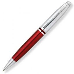 Шариковая ручка Cross Calais. - красный + серебристый. \ AT0112-8