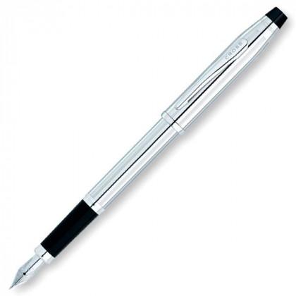 Перьевая ручка Cross Century II. - серебристый. \ 3509-FS
