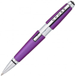 Ручка-роллер Cross Edge без колпачка. Цвет - фиолетовый. \ AT0555-9
