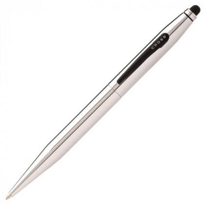 Шариковая ручка Cross Tech2 со стилусом 6мм. - серебристый. \ AT0652-2