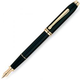 Перьевая ручка Cross Townsend. Цвет - черный. \ 576-FD