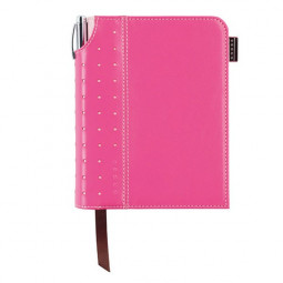 Записная книжка Cross Journal Signature A6, 250 страниц в линейку. ручка 3/4. Цвет - розовый \ AC236-3S