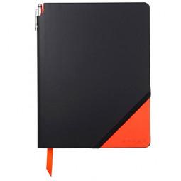 Записная книжка Cross Jot Zone , A4, 160 страниц в линейку, ручка в комплекте. Цвет - черно-ора \ AC273-1L
