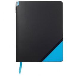 Записная книжка Cross Jot Zone, A4, 160 страниц в линейку, ручка в комплекте. Цвет - черно-св.с \ AC273-3L