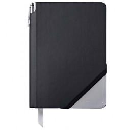 Записная книжка Cross Jot Zone, A5, 160 страниц в линейку, ручка в комплекте. Цвет - черно-серы \ AC273-5M