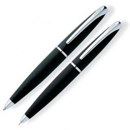 Набор Cross ATX: шариковая ручка и механический карандаш 0.7мм. Цвет - черный. \ 881-3