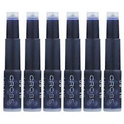 Картридж Cross для перьевой ручки, синий (6шт) \ 8920 blue
