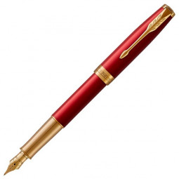 Ручка перьевая Parker ESSENTIAL Sonnet Laque Red GT \ 1931478