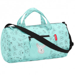 Сумка детская складная 38 см Dufflebag S cats and dog Reisenthel \ IH4062